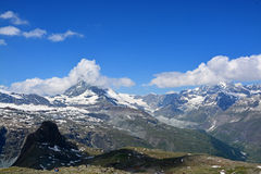 Matterhorn, Valais, Switzerland Royalty Free Stock Photos