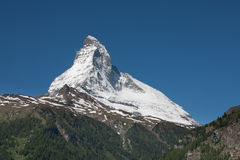Matterhorn view Stock Photos