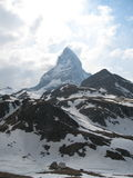 Matterhorn. View of Matterhorn in Switzerland Royalty Free Stock Images