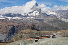 Matterhorn von Gornergrat Lizenzfreie Stockbilder
