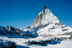 Matterhorn in Winter Stock Images