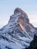 Matterhorn of Zermatt Royalty Free Stock Photo