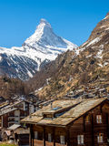 Matterhorn of Zermatt Stock Photos