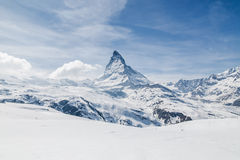 Matterhorn, Zermatt, Svizzera Immagini Stock Libere da Diritti