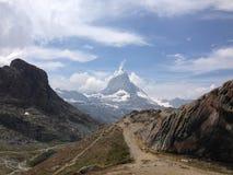 Matterhorn, Zermatt, Svizzera Immagine Stock Libera da Diritti