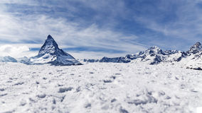 Matterhorn, Zermatt, Switzerland. Stock Photography