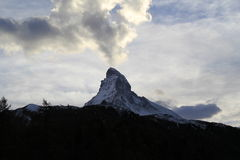 Matterhorn in Zermatt, Switzerland Stock Images