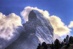 Matterhorn, Zermatt, Switzerland Royalty Free Stock Photos