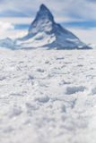 Matterhorn, Zermatt, Zwitserland Stock Fotografie