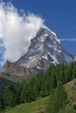Matterhorn in Zwitserland Stock Afbeeldingen