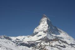 Matterhorn, Zwitserland Stock Foto