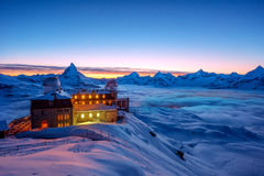 Matterhorn, Zwitserland stock afbeeldingen