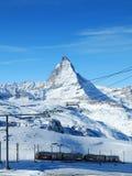 Matterhorn, Zwitserland royalty-vrije stock foto