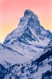 Matterhornen Fotografering för Bildbyråer