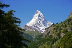 Matterhornpiek Stock Fotografie