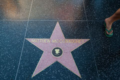 Mattew McConaughey Hollywood Star Stock Images