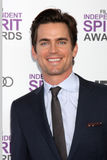Matthew Bomer. LOS ANGELES - FEB 25:  Matthew Bomer arrives at the 2012 Film Independent Spirit Awards at the Beach on February 25, 2012 in Santa Monica, CA Stock Images