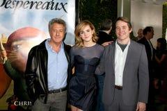 Matthew Broderick,Dustin Hoffman,Emma Watson Stock Image