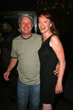 Matthew Cunningham e Jenny McShane na festa de anos para J. Nathan Brayley, Amagis, Hollywood, CA 05-18-08 Imagem de Stock Royalty Free