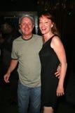 Matthew Cunningham en Jenny McShane bij de verjaardagspartij voor J. Nathan Brayley, Amagis, Hollywood, CA 05-18-08 Royalty-vrije Stock Afbeelding