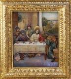 Matthew ha invitato la casa di Gesù per una festività Fotografia Stock Libera da Diritti