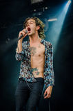 Matthew Healy of The 1975 (band) Royalty Free Stock Photography