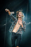Matthew Healy du 1975 (bande) Photo stock