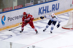 Matthew J. Gilroy (97) vs Mikhail Fisenko (11) Stock Image
