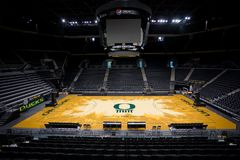 Matthew Knight Arena at University of Oregon stock images