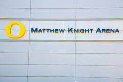 Matthew Knight Basketball Arena en la universidad de Oregon Imagenes de archivo