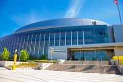 Matthew Knight Basketball Arena na universidade de Oregon fotografia de stock
