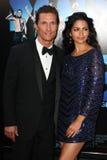 Matthew McConaughey και Camila McConaughey Στοκ Φωτογραφία