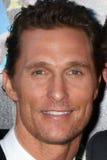 Matthew McConaughey arriva al   fotografie stock