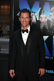 Matthew McConaughey arrives at the  Stock Photography