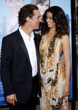 Matthew McConaughey and Camila Alves Royalty Free Stock Image