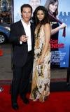 Matthew McConaughey and Camila Alves Stock Photo