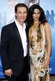 Matthew McConaughey and Camila Alves Stock Photos