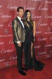 Matthew McConaughey & Camila Alves-McConaughey arkivbilder