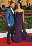 Matthew McConaughey & Camilla Alves Royalty Free Stock Image