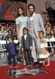 Matthew McConaughey & Camilla Alves Stock Photo