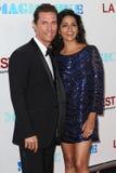 Matthew McConaughey e Camila McConaughey Immagini Stock Libere da Diritti