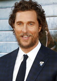 Matthew McConaughey. At the Los Angeles premiere of `Sing` held at the Microsoft Theater in Los Angeles, USA on December 3, 2016 Royalty Free Stock Images