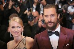 Matthew McConaughey, Naomi Watts Στοκ Εικόνες