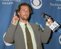 Matthew Mcconaughey. 32nd People's Choice Awards Shrine Auditorium Los Angeles, CA January 10, 2006 Stock Photos