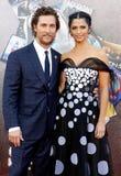 Matthew McConaughey och Camila Alves Royaltyfri Foto