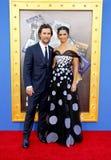 Matthew McConaughey och Camila Alves Fotografering för Bildbyråer