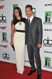 Matthew McConaughey u. Camila Alves Lizenzfreies Stockbild