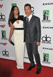 Matthew McConaughey y Camila Alves Fotografía de archivo