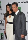 Matthew McConaughey y Camila Alves Fotos de archivo