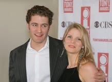 Matthew Morrison & Kelli O`Hara at Meet the Nominees Press Reception for the 2005 Tony Awards in NYC